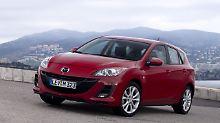 Gebraucht alles im grünen Bereich: Am Mazda3 gibt's fast nichts auszusetzen