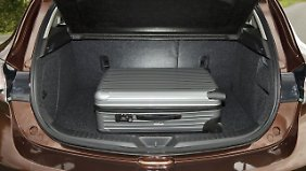 Das Platzangebot im Kofferraum ist ausreichend.