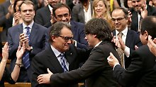 Diskussion bei Katalanen: Mas relativiert Unabhängigkeitserklärung