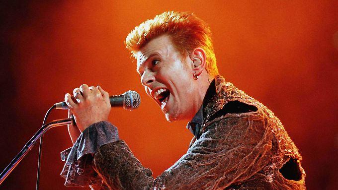 Vorbild im Wandel: Über die Jahrzehnte blieb sich Bowie trotz aller Veränderungen treu.