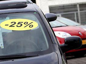 Autohändler verdienen erst durch den Weiterverkauf. Doch mit viel Abschlag müssen private Verkäufer rechnen?