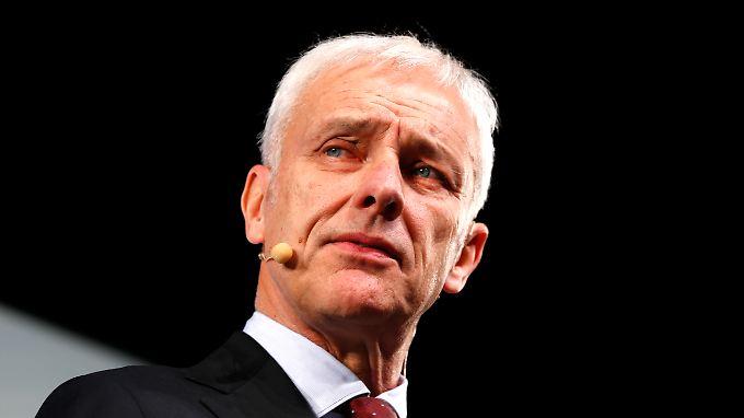 VW-Chef Matthias Müller hat noch einen Vertrag bis 2020.