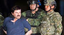 """""""El Chapo"""" habe mit seinen Verbrechen geprahlt: """"Ich liefere mehr Heroin, Methamphetamin, Kokain und Marihuana als irgend jemand sonst in der Welt"""", gab ihn Penn wieder. """"Ich habe eine Flotte aus U-Booten, Flugzeugen, Lastwagen und Schiffen."""""""