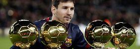 Rekorde, Tore, Titel: Darum wird Messi Weltfußballer 2015