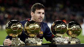 Rekorde, Tore, Titel: Warum Lionel Messi Weltfußballer 2015 wird