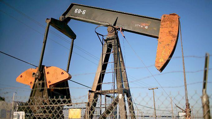 Es ist zu viel Öl auf dem Markt.