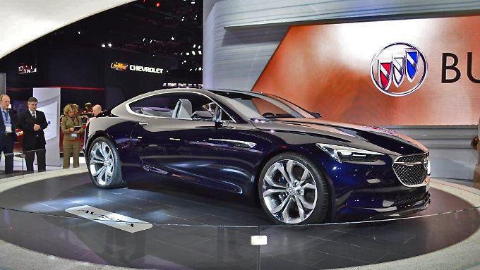 Der Buick Avista darf als absolut gelungen gelten und könnte auch als Opel eine gute Figur machen.