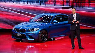 Deutsche Autobauer in Detroit: BMW verkauft so viele Autos wie noch nie