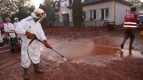 Chemieunfall in Ungarn: Roter Schlamm giftiger als erwartet