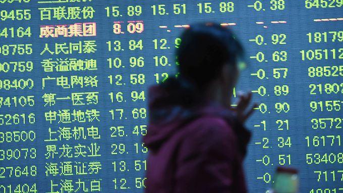 Chinas Börsen sind miserabel ins Jahr gestartet.