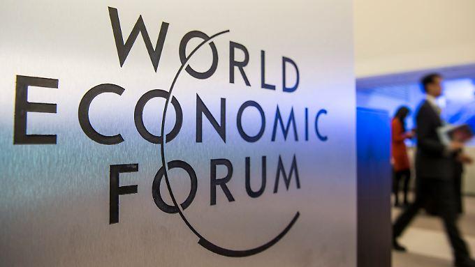 2500 Gipfel-Teilnehmer werden in Davos erwartet.