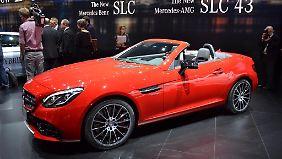 Der SLC wirkt kraftvoller als sein Vorgänger.