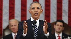 Letzte Rede zur Lage der Nation: Obama macht seinen Landsleuten Mut