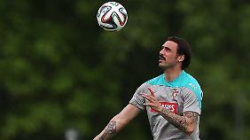 Zuletzt spielte Hugo Almeida für einen russischen Club.