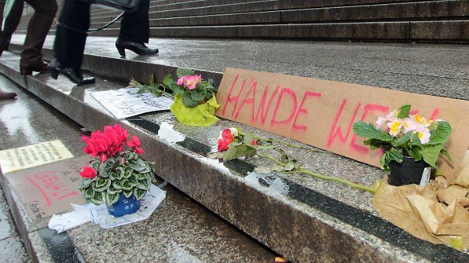 Nach den sexuellen Übergriffen in Köln war eine Debatte um die sexuelle Selbstbestimmung von Frauen entbrannt.