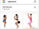 Such-Karten erklären Asanas: Google wird zum Yoga-Lehrer