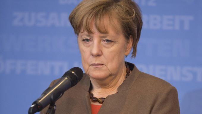 Merkel wird den Brief wohl erst am Montag bekommen.
