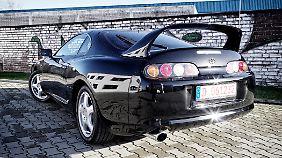 In einigen Ländern wurde der Toyota Supra auch ohne den Spoiler angeboten.