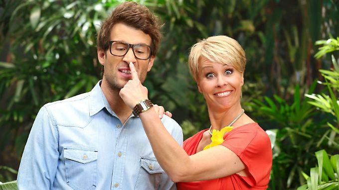 Dass sie sich mögen, sieht man sofort: Daniel Hartwich und Sonja Zietlow.