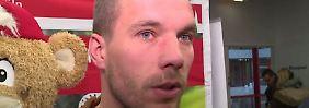 + Fußball, Transfers, Gerüchte +: Podolski träumt von Comeback beim FC