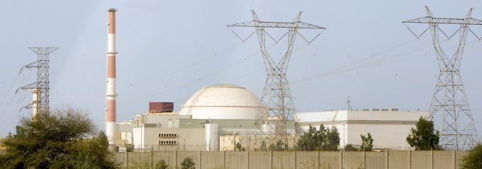 Das IAEA-Papier könnte das Ende des 13 Jahre währenden Atomstreits markieren: Blick auf die iranischen Nuklearanlagen in Buschehr (Archivbild).