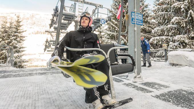 Frust statt Medaillenambitionen: Severin Freund legte einen Fehlstart in die Skiflug-WM hin.