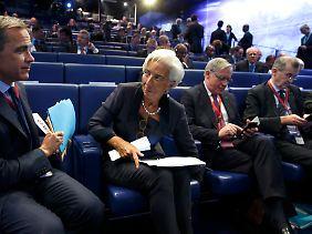 """Christine Lagarde: """"Wir schauen weiter hin, wir beobachten, wir machen unsere Anmerkungen."""""""