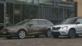 Skoda Yeti vs. Seat Leon X-Perience: Kombi und SUV messen sich