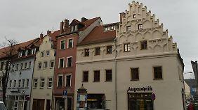 Ein Teil der schönen Altbauten in Zeitz ist restauriert worden.