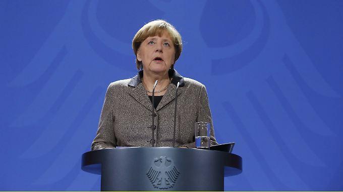 Mit Europa derzeit unzufrieden: Bundeskanzlerin Merkel.