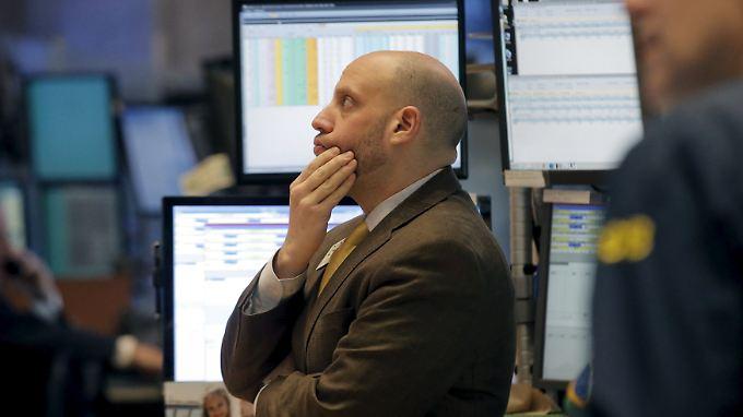 Ein Tag zum Vergessen an der Wall Street.