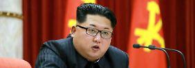 """Nordkoreas Machthaber Kim Jong Un hatte den Atomversuch als Akt der """"Selbstverteidigung"""" bezeichnet."""