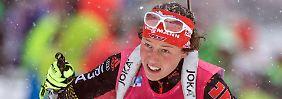 """Haarscharf ausgebremst: Biathlon-Staffel verpasst Sieg """"etwas blöd"""""""