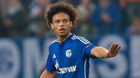 Schalkes Leroy Sané steht im Fokus vieler Topklubs.