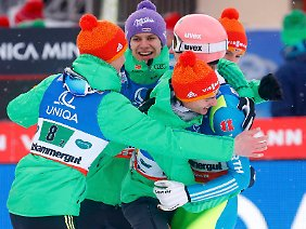 Tenor im deutschen Team: Silber gewonnen, nicht Gold verloren.