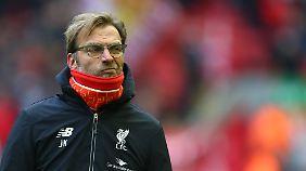 In seinem ersten Klassiker blieb Jürgen Klopp mit dem FC Liverpool nur zweiter Sieger gegen Manchester United.