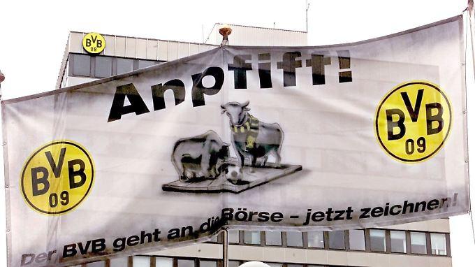 Im Jahr 2000 ging Borussia Dortmund an die Börse - bis heute als einziger deutscher Fußballklub.