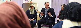 Cameron verschärft die Regeln: Wer kein Englisch lernt, fliegt