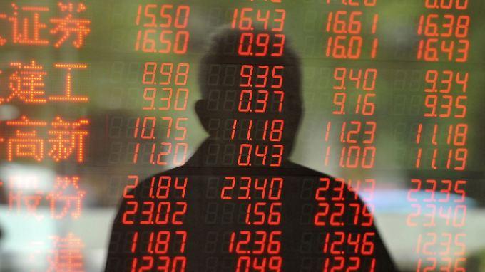 An den Börsen geht es derzeit vorzugsweise abwärts.