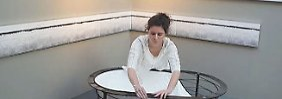 Rundgang über Möbelmesse IMM: Wer braucht eine tragbare Badewanne?
