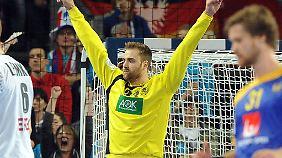 Mann des Spiels war der DHB-Torhüter Andreas Wolff.