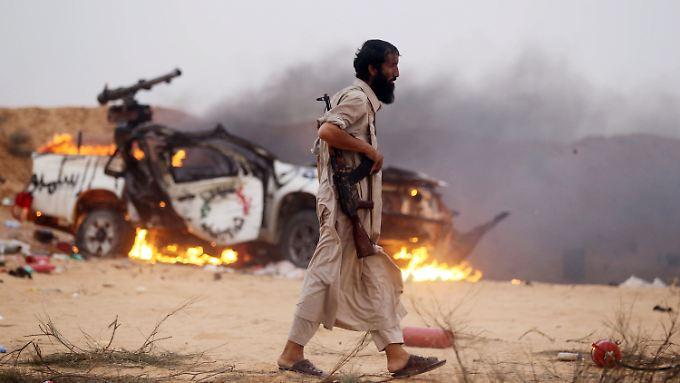 Seit dem Sturz des Diktators al-Gaddafi kommt Libyen nicht zur Ruhe.
