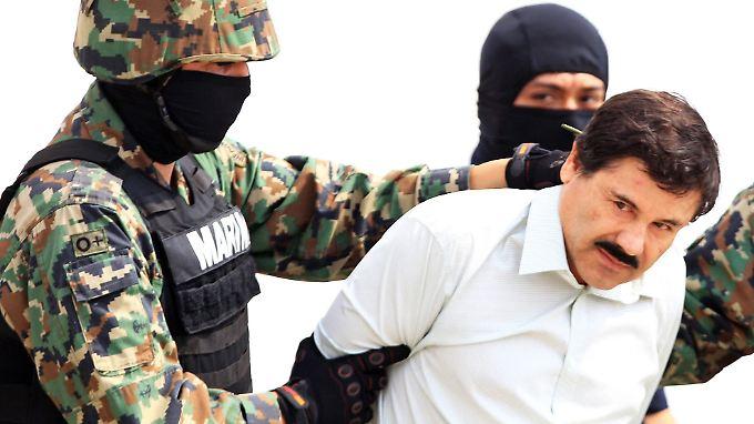 """Elf Mal musste """"El Chapo"""" inzwischen schon seit der Inhaftierung seine Zelle wechseln."""