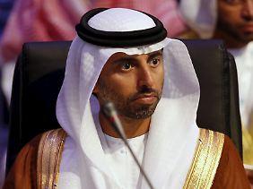 Suhail Al Mazroui, Energieminister der Vereinigten Arabischen Emirate (VAE).