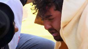 Flucht nach Europa: Erschütternde Bilder einer dramatischen Rettung im Mittelmeer