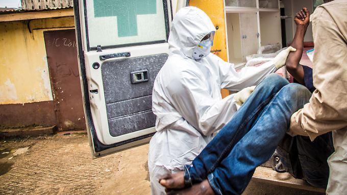 Sierra Leone hat inzwischen ausreichende Behandlungskapazitäten.