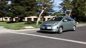 Still und heimlich: Google entwickelt Roboterautos