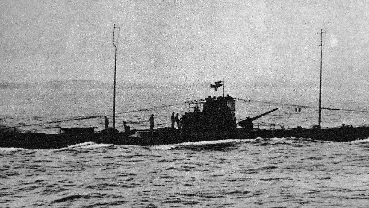 1915 vor england versunken experten identifizieren for Deutsches u boot typ xxi mit interieur