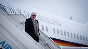 Nicht seine einfachste Reise als Außenminister: Frank-Walter Steinmeier.