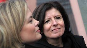 Konkurrentinnen im rheinland-pfälzischen Wahlkampf: Ministerpräsidentin Dreyer von der SPD und CDU-Kandidatin Klöckner.